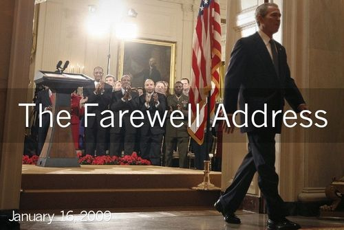 George Bush Final Speech