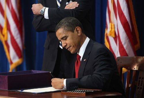 Obama signs stimulus